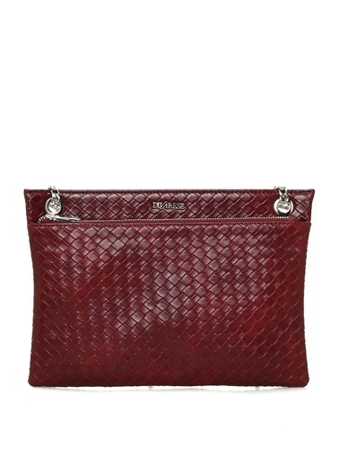 Divarese Clutch / El Çantası Bordo